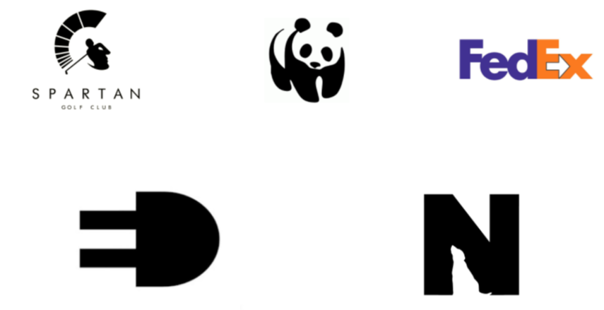 espace negatif logo